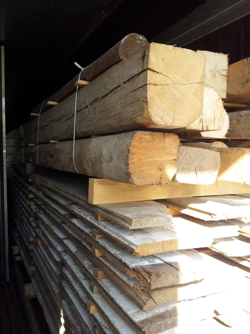 Holz zur Hitzebehandlung in der Trockenkammer