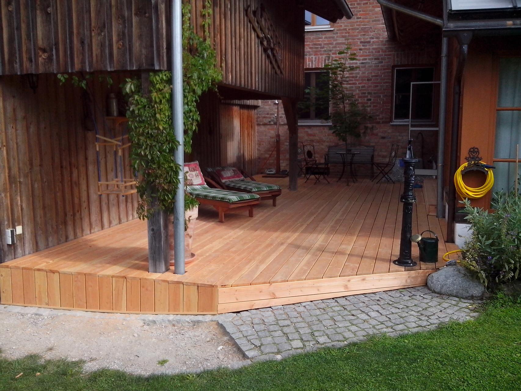 Kundenbild: Terrassendielen Douglasie