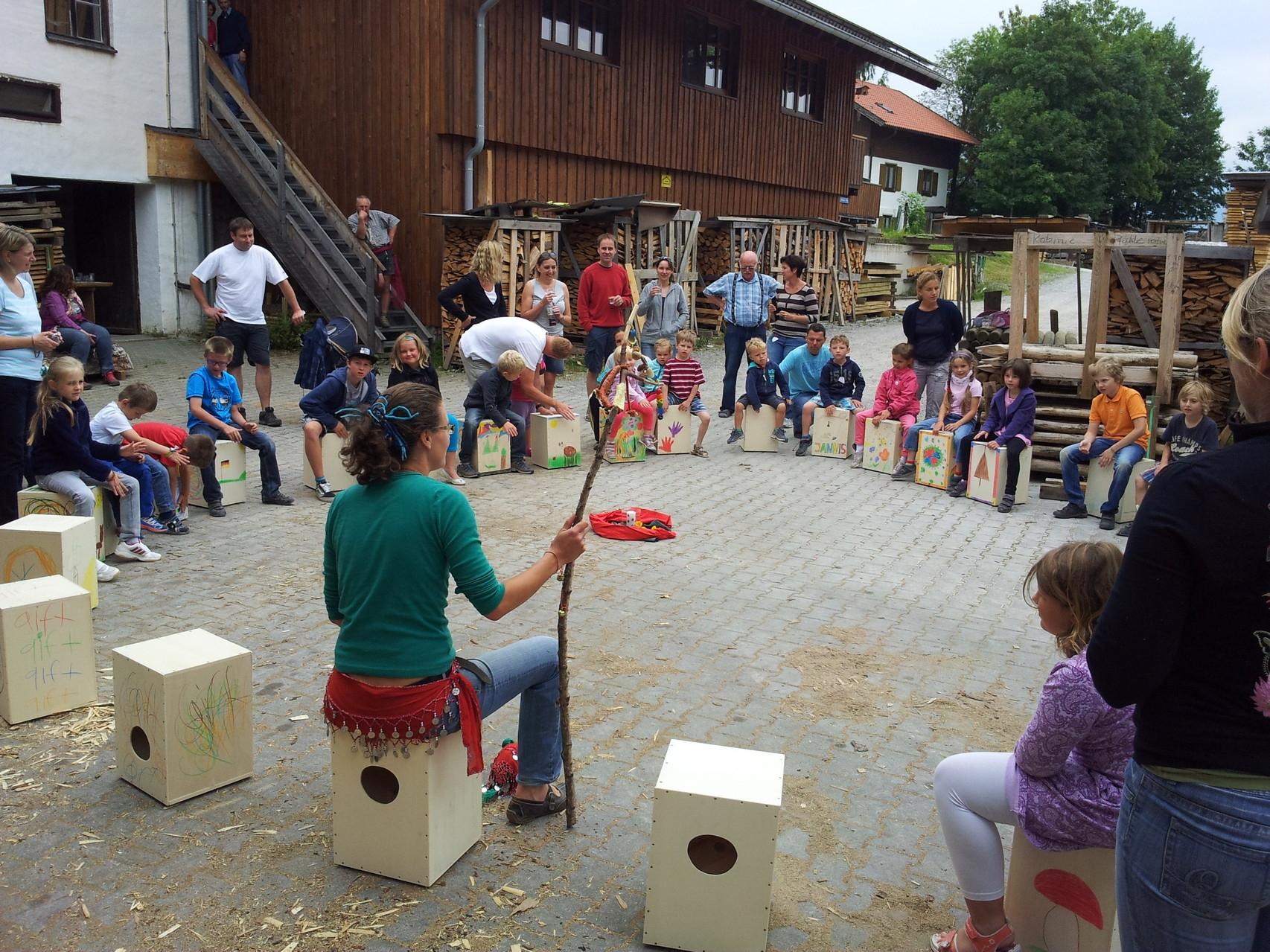 Kindersägewerk 2014: Spaß für Klein...