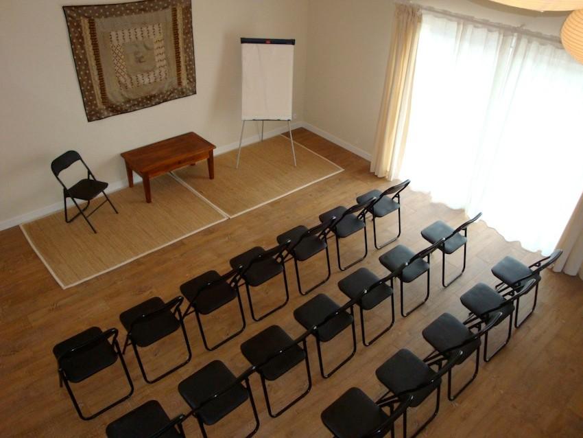 Salle pour des conférences