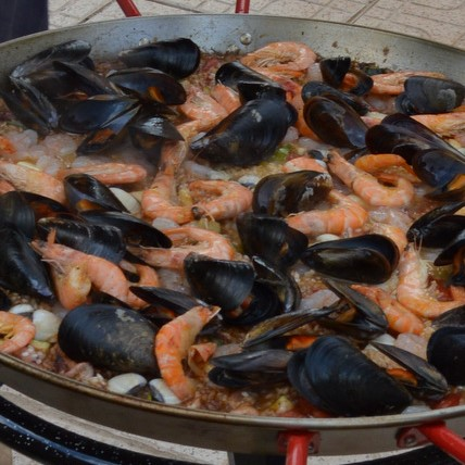 heerlijke visgerechten uit de middellandse zee