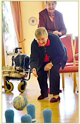 Feiern im Pflegeheim