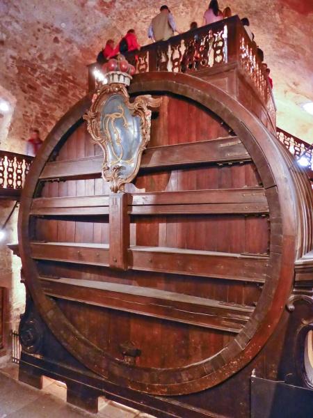 Größtes Weinfass der Welt