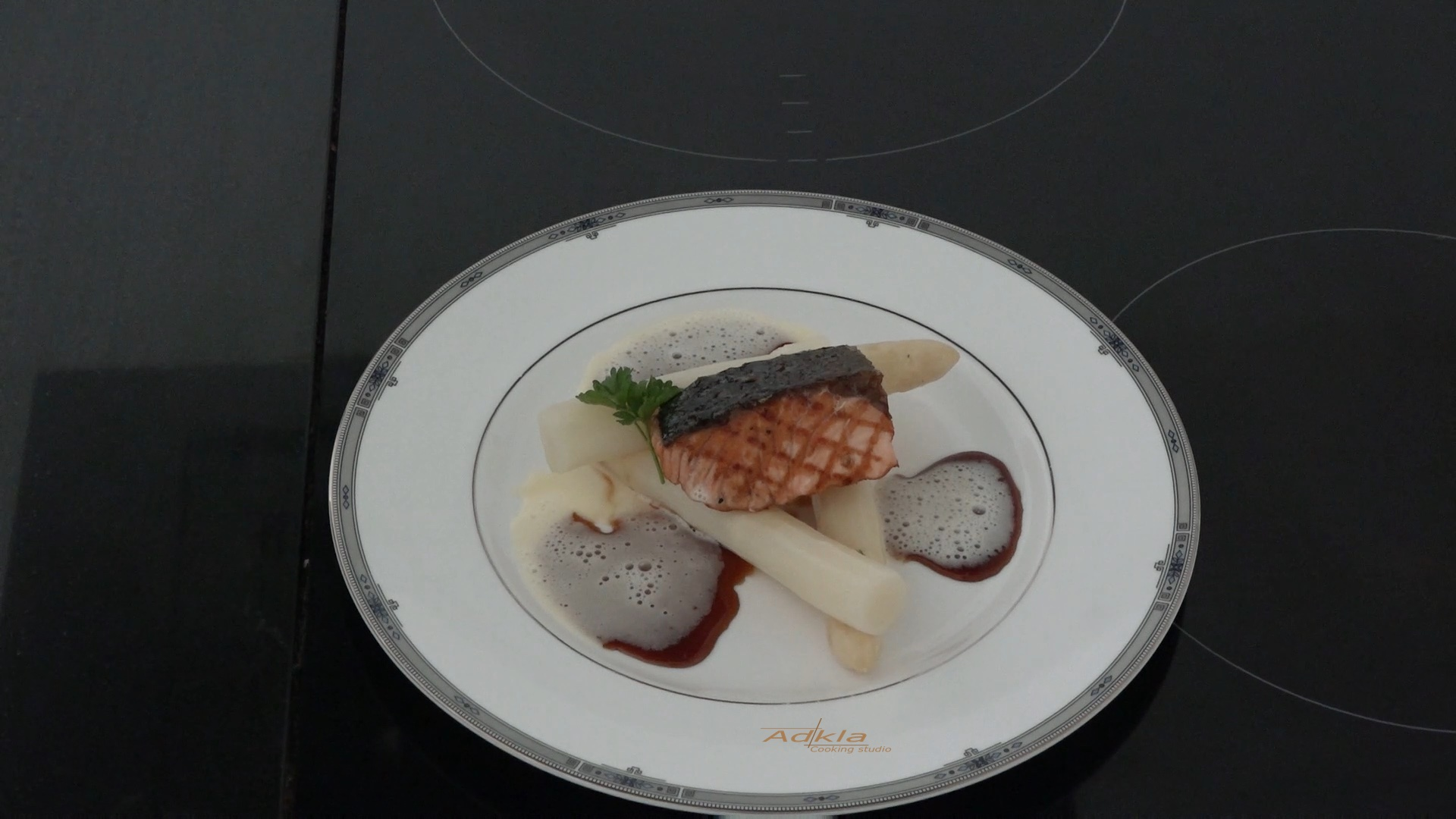 Brabantse asperges met een Japanse tintje