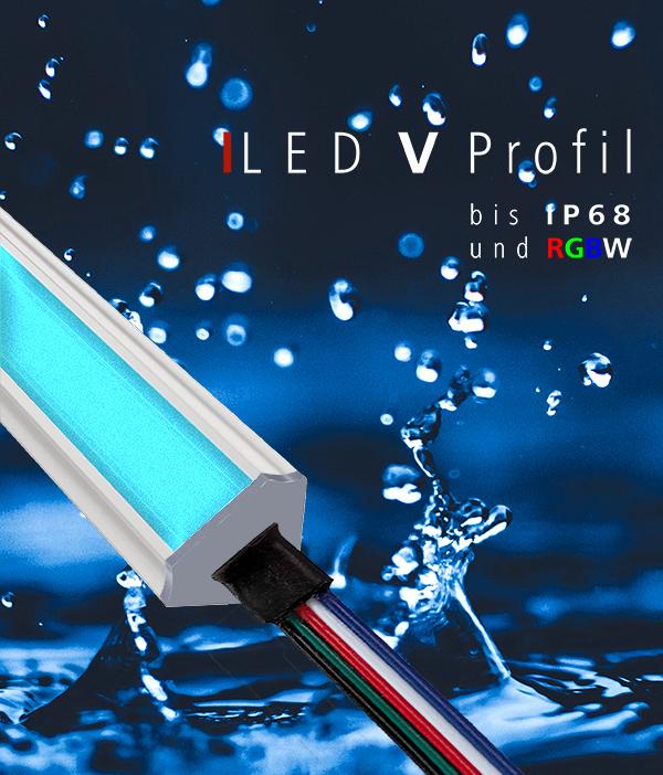 LED, Streifen, Profile, Außenleuchten, wasserdicht, IP44, IP65, IP67, IP68