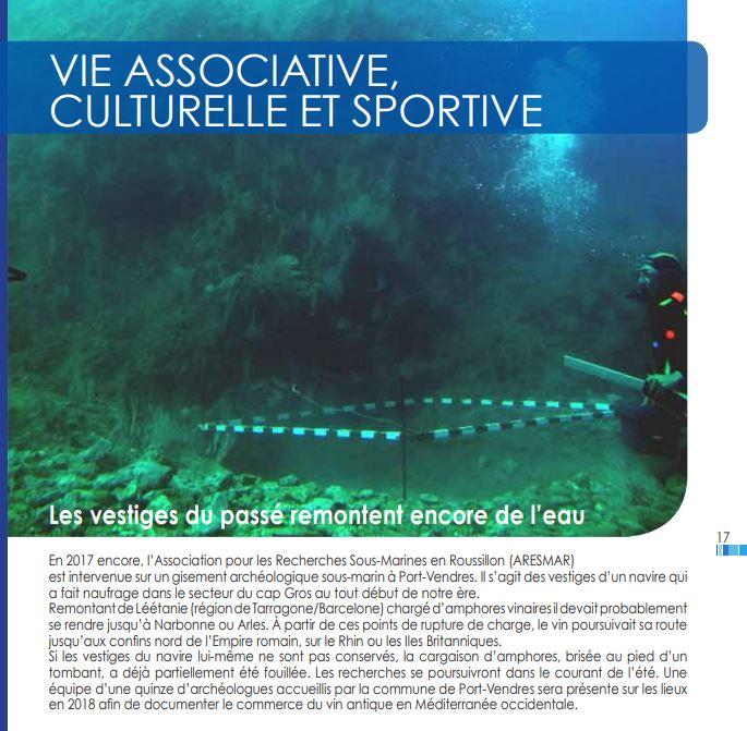 """Journal municipal """"Le Port-Vendrais"""", mars 2018"""