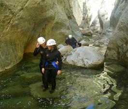 Aventura descenso de Barrancos Avanzado