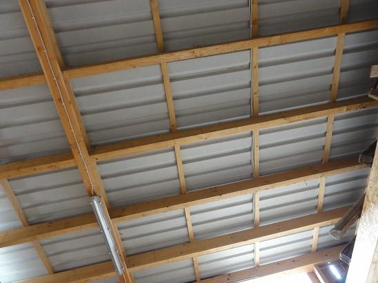 einfache Dachkonstruktion
