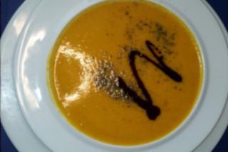 Kürbiscrèmesuppe