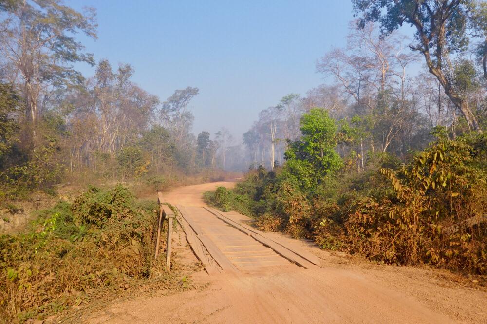 Between Ban Ke Toch and Veun Sai