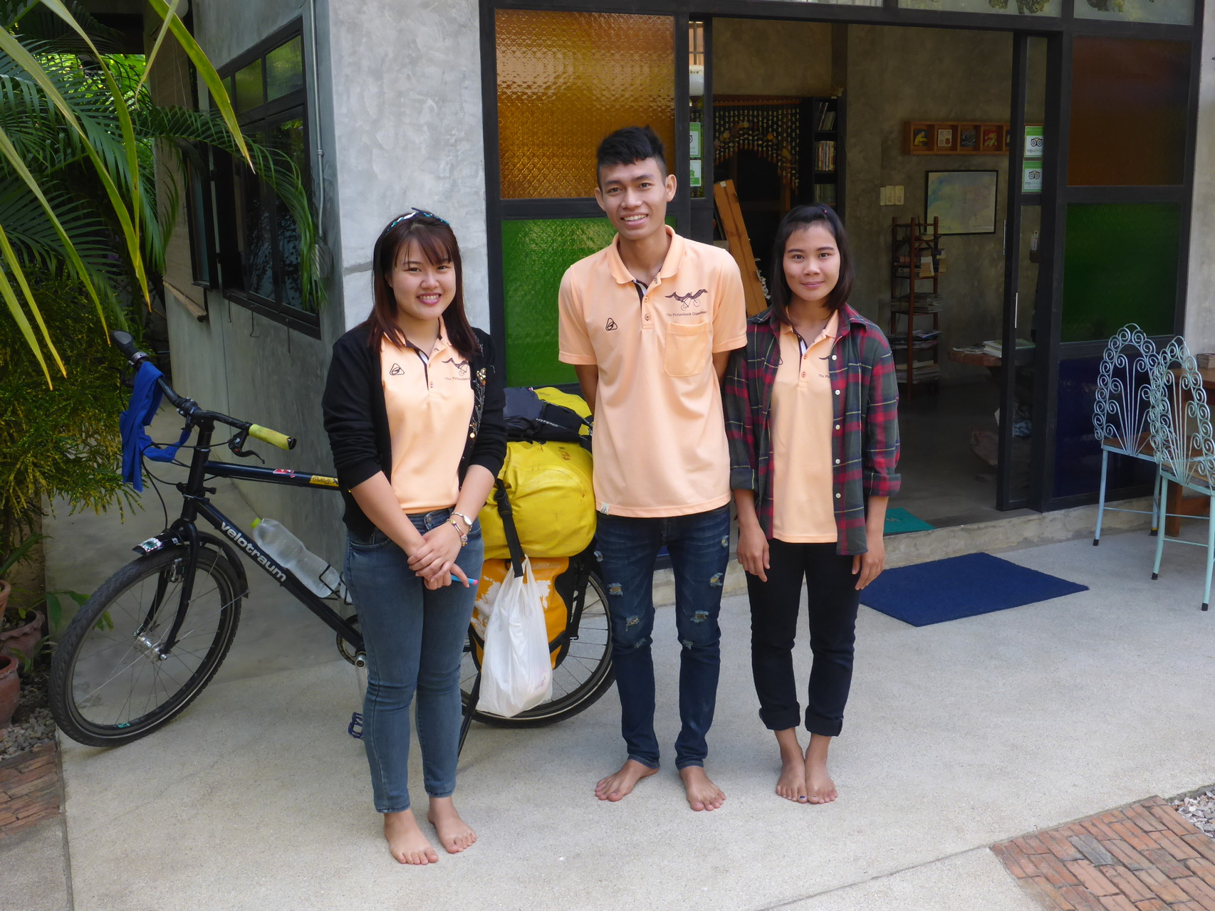 Most famous Picturebook Guesthouse Staff