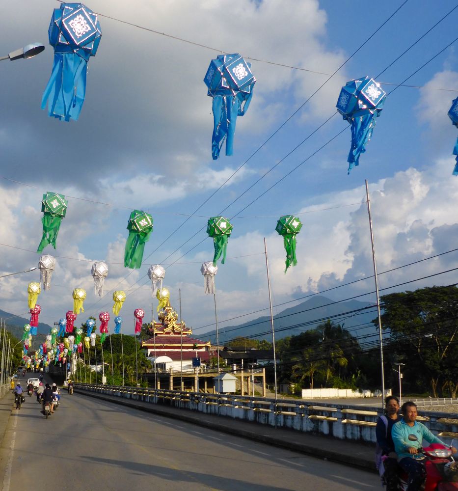 Arrival in Mae Sariang