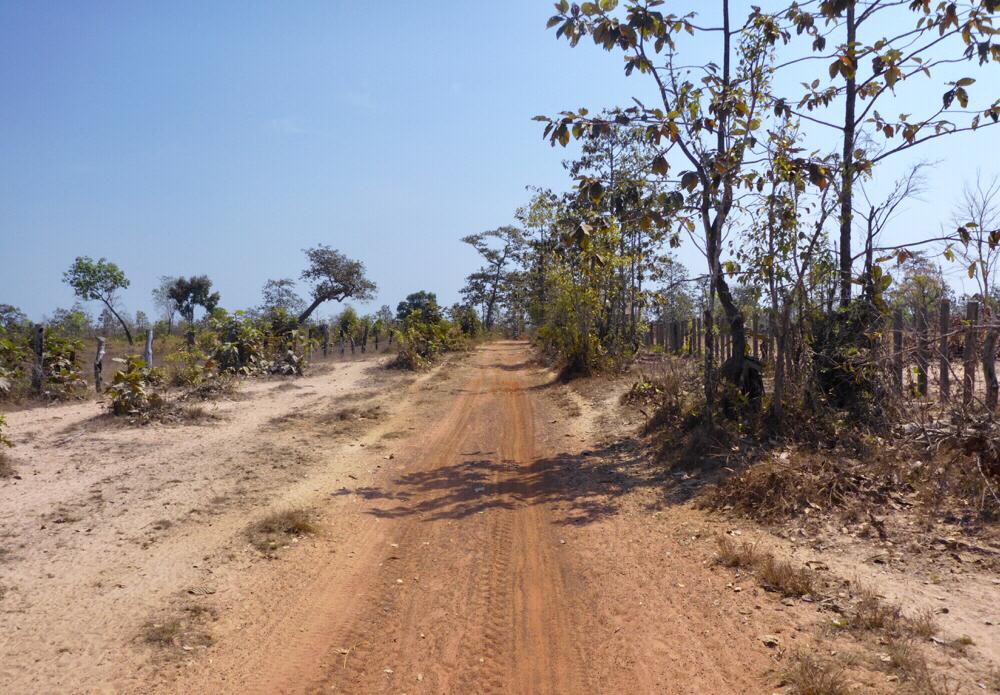 """""""Road"""" between Siem Pang and O Samong"""