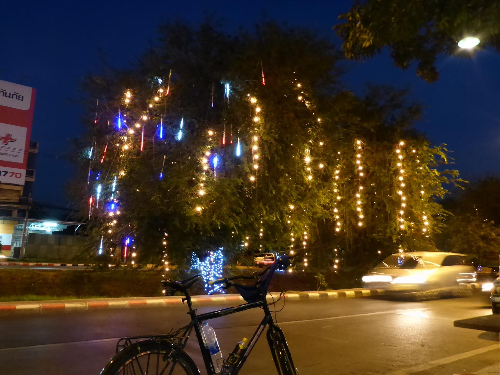 Gestern abend in Ayutthaya