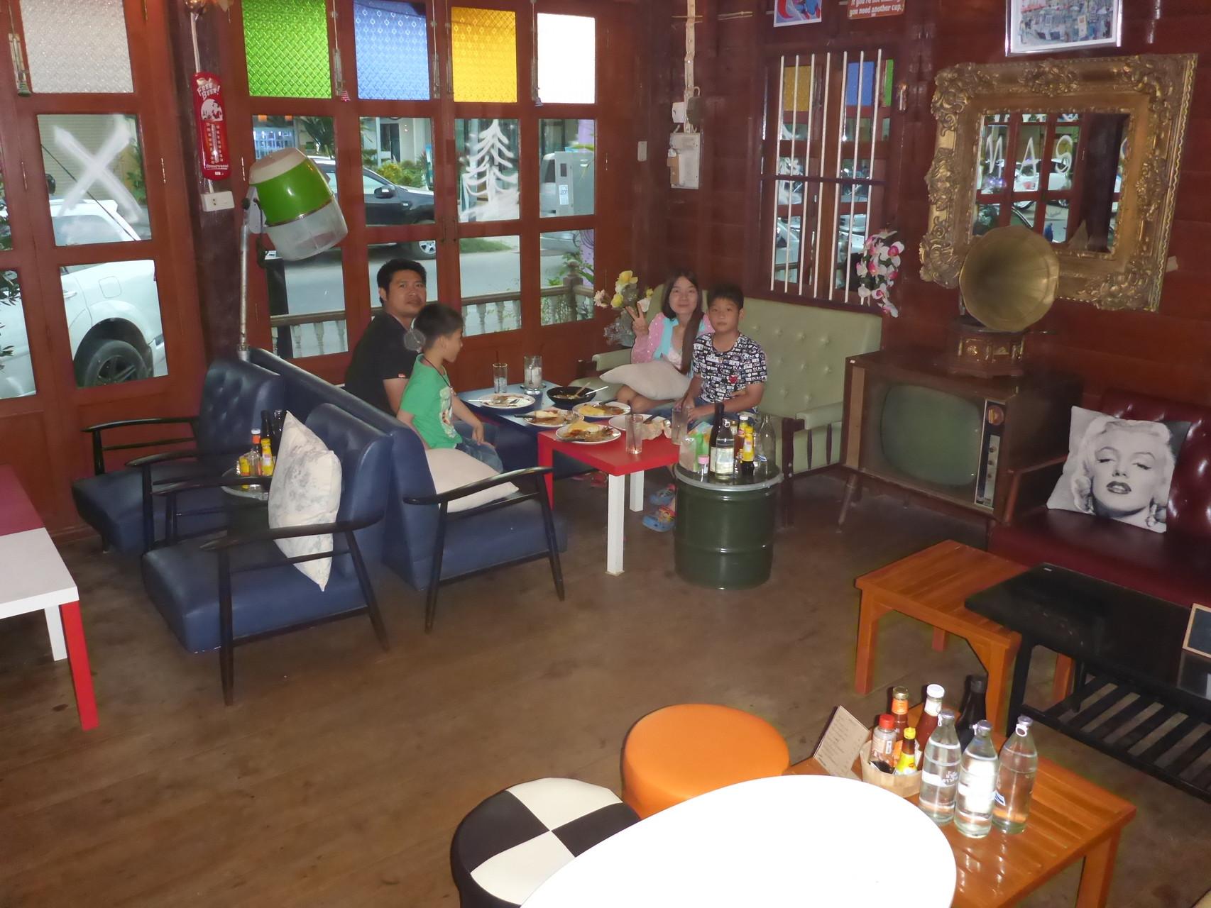 Der Hauptraum des Restaurants
