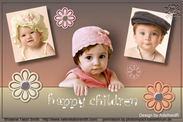 Collage 10, Happy children