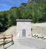création réservoir d'eau