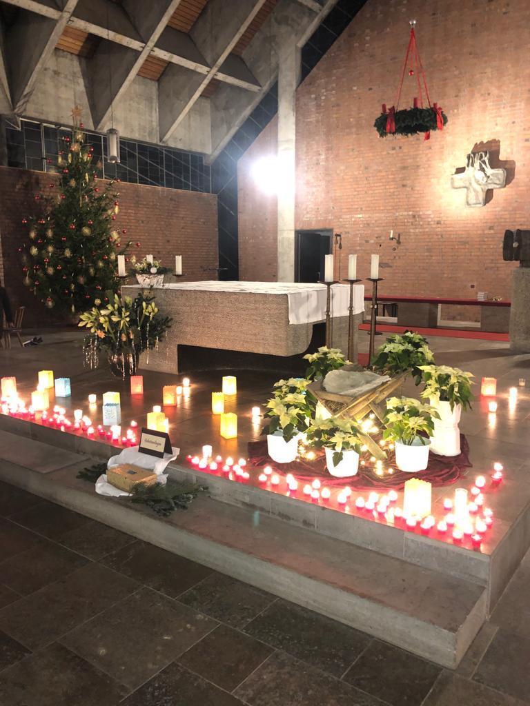 Einstimmung auf Weihnachten am 23.12.2019 in Woffenbach