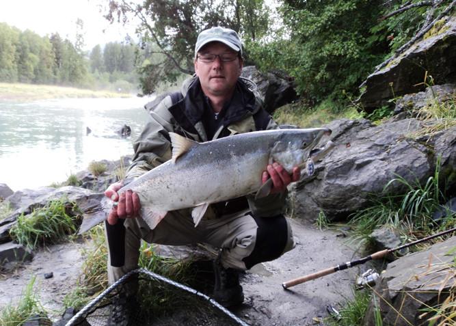 Alaska 2010 - Silberlachs