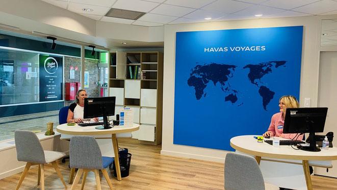 Brossard Havas Voyages au centre commercial de la chaussée à Montargis
