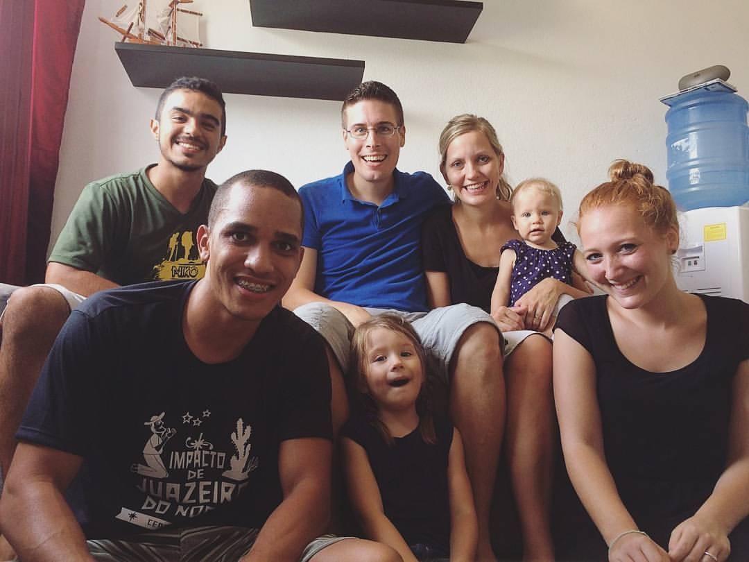 Besuch von den DTS-Studenten Leo und David aus Brasilien