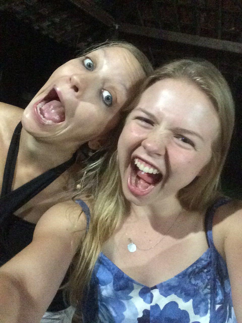 3. SpecialDinner: Selfiiii mit Melissa aus Kanada...