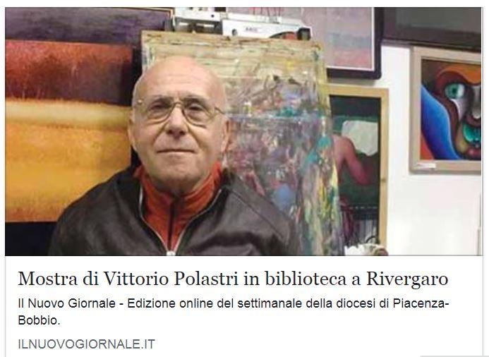 """Rivergaro: Mostra spazio permanente """"Percorsi diversi"""" del  Centro di Lettura     Vittorio Polastri : """" FINESTRA DELLA VITA""""  dal 21 aprile al 18 maggio"""