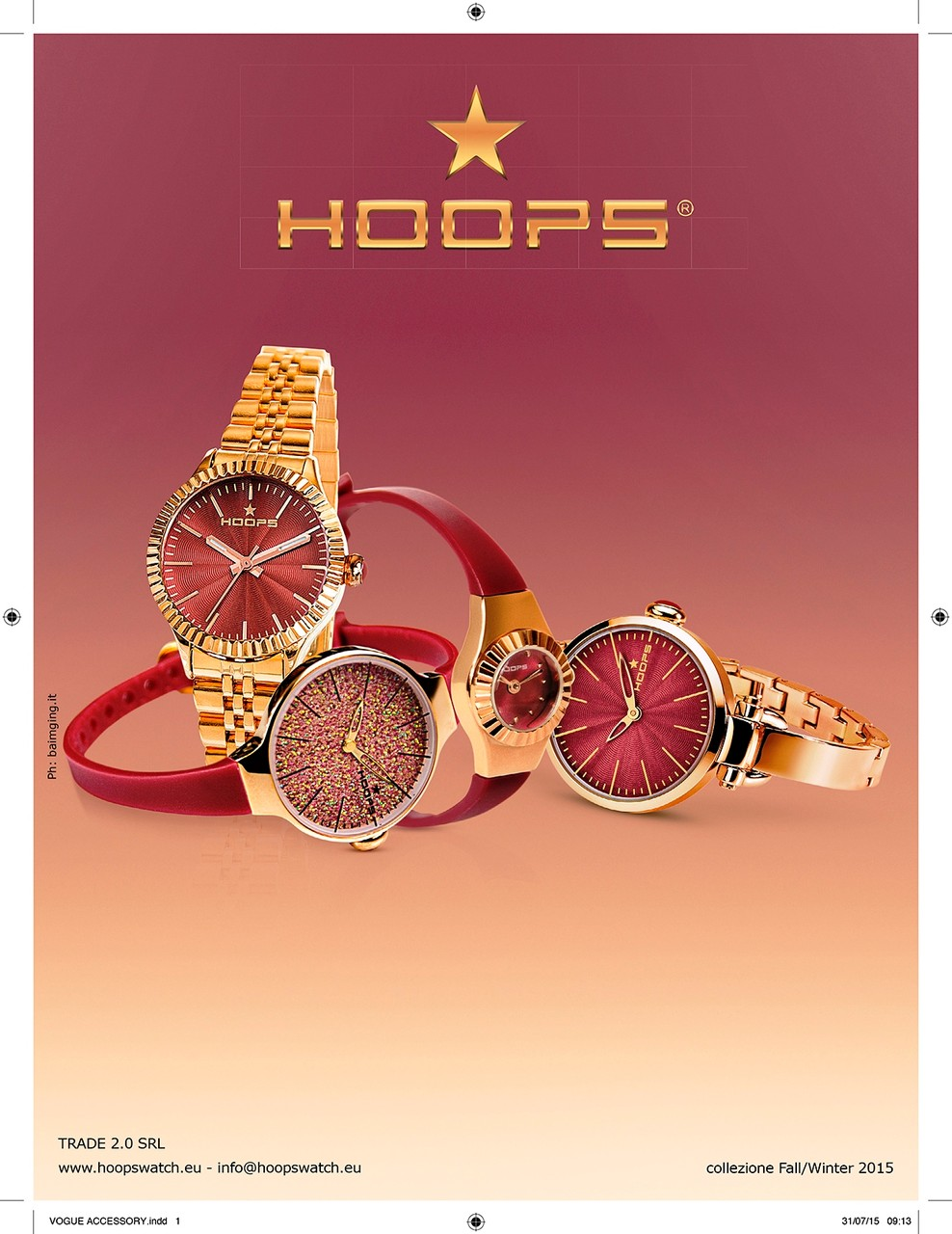 ADV Hoops Watch Italia su Vogue Accessori
