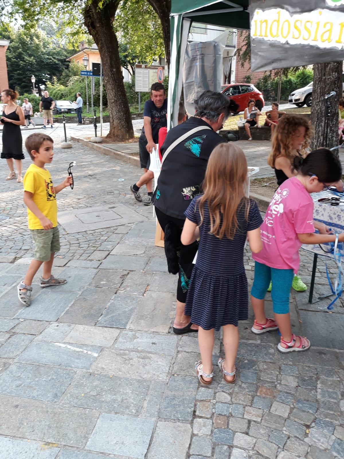 """TRAVO  14 luglio 2018 dalle ore 17,00 alle ore 18,30  """"LA FIABA DEI GRILLI TRICICLI""""  in piazza con i grilli tricicli e tanti giochi di una volta"""