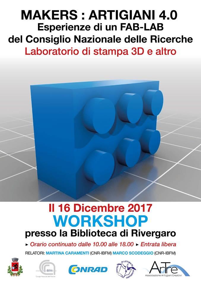 16 dicembre 2017 presso la biblioteca Via Bonistalli 7 Rivergaro