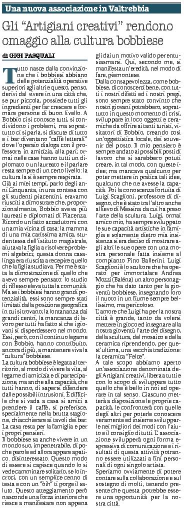 quotidiano Libertà 23 marzo 2014