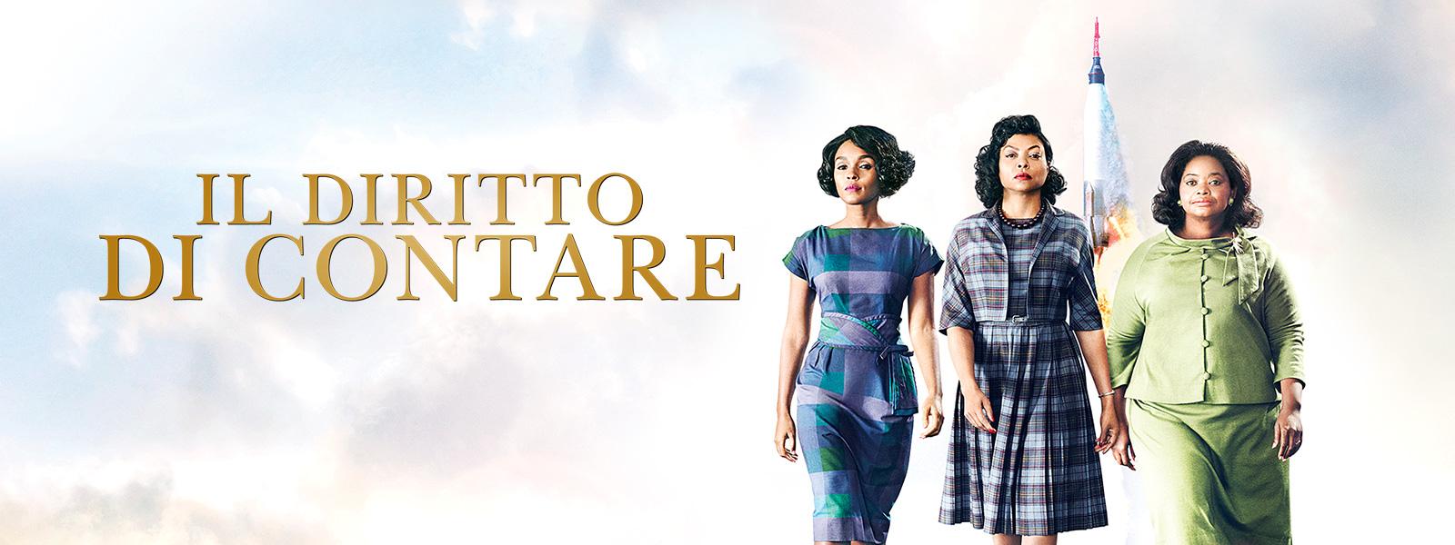 """RASSEGNA CINEMATOGRAFICA INVERNALE 2019  """"MARTEDI' AL CINEMA"""" 26 marzo ore 21:00 IL DIRITTO DI CONTARE Casa del Popolo. via Don Veneziani, 64 -Rivergaro (PC)"""