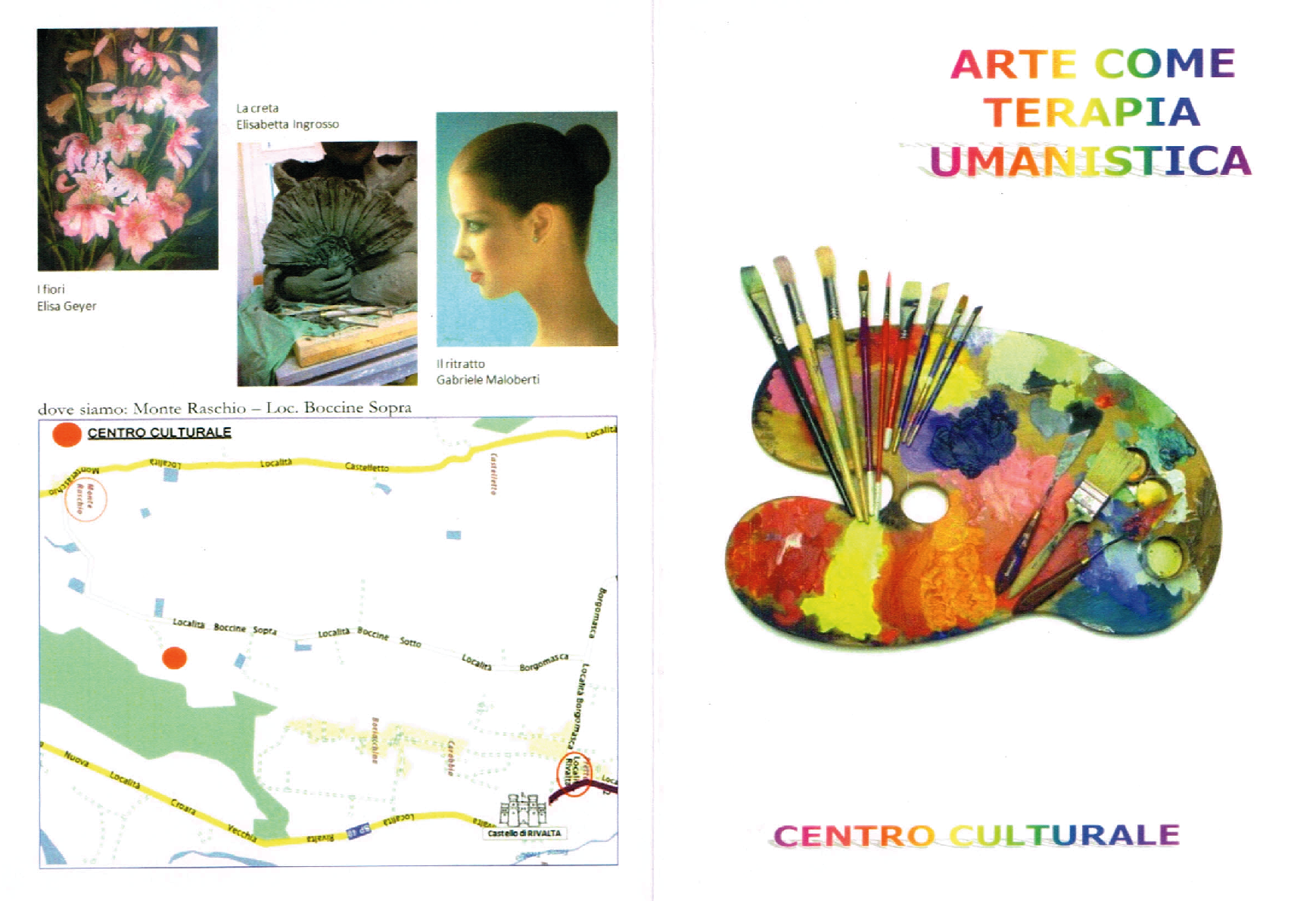 arte come terapia umanistica