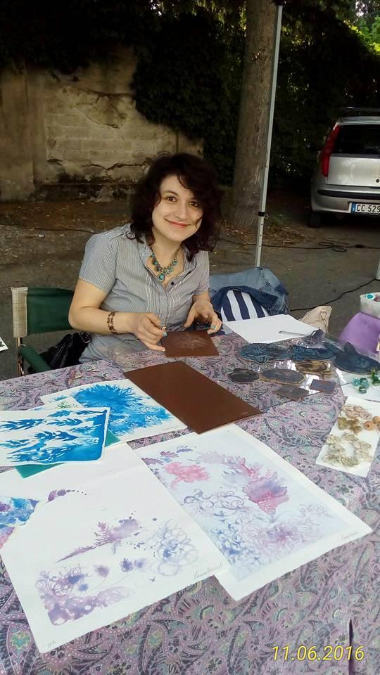 Laura Verardi ArTre a Gragnano Trebbiense per Notte d'estate