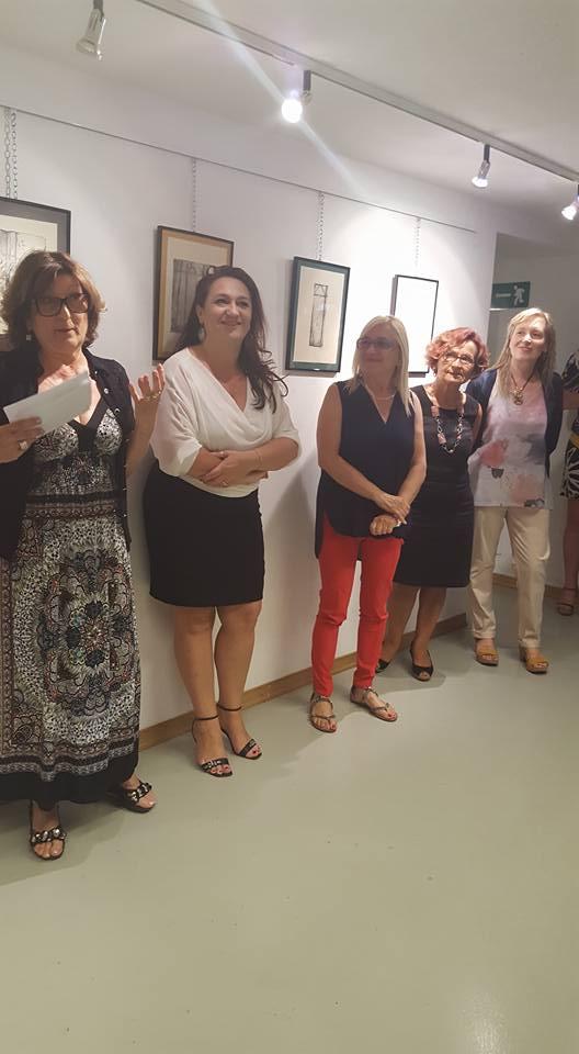"""Antonella Signaroldi, Francesca Cassinari, Maria Cristina Azzalia, Silvia Ghigna """"DONNE NELL'ARTE"""""""