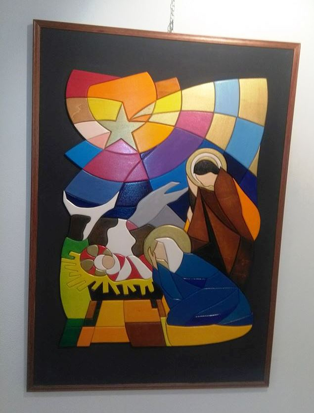 Natività Gesù è nato Braghi Giuseppe