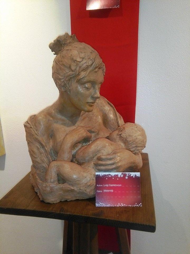 Natività MATERNITÀ Luigi Castelnuovo