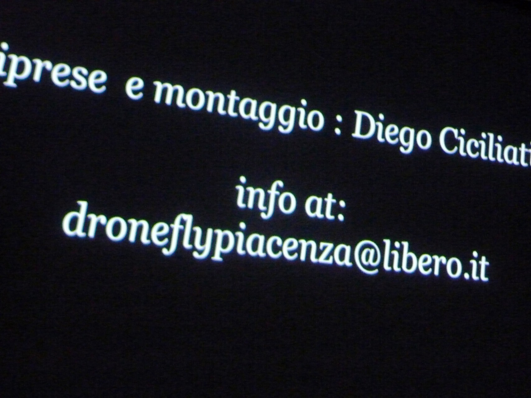 DRONE FLY Piacenza