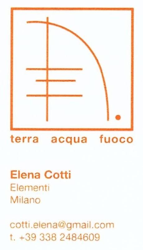 ELENA COTTI - TERRA, ACQUA, FUOCO a Fantastico Medioevo
