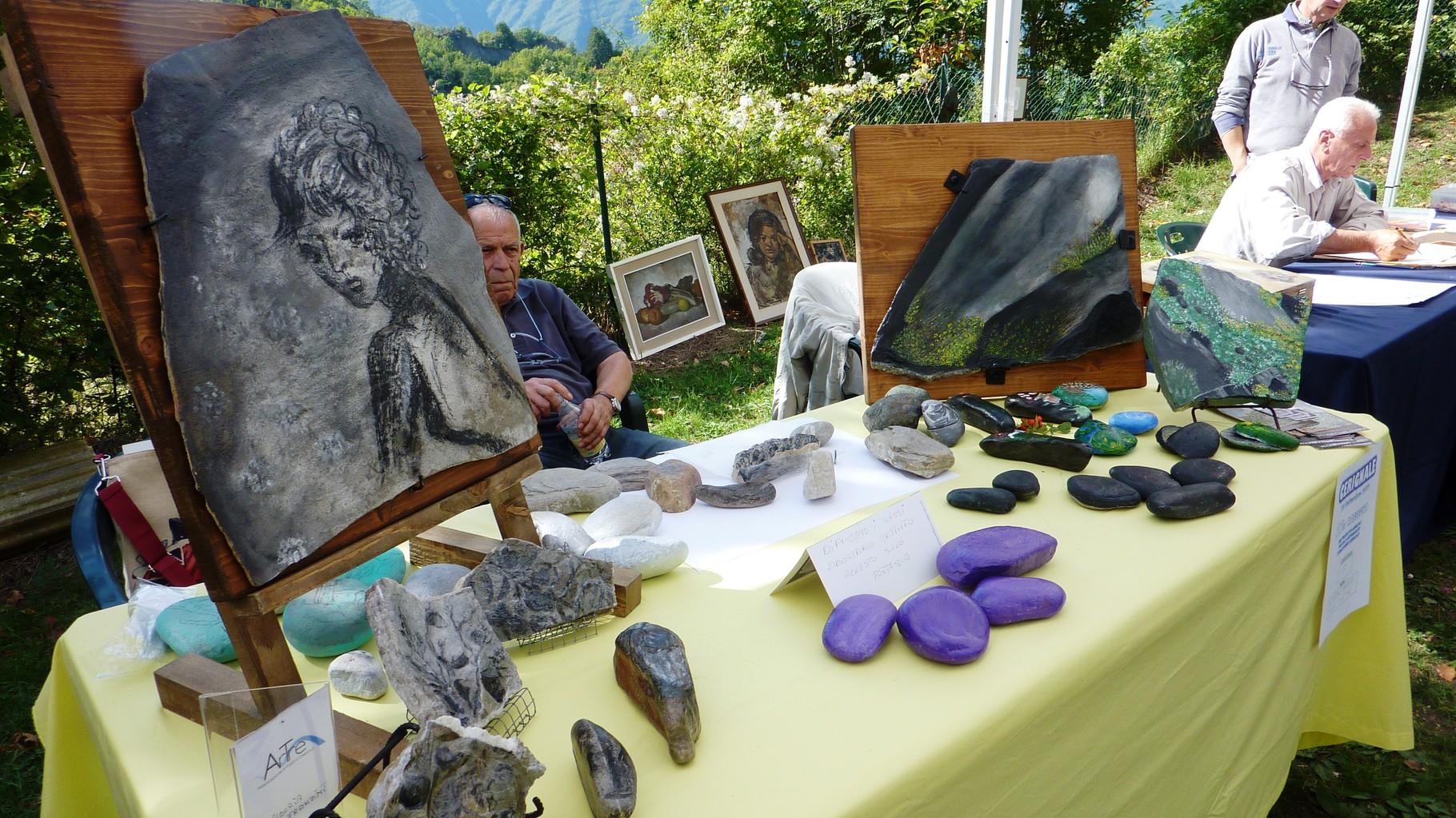 """gli """"Artigiani Creativi"""" di ArTre a Cerignale"""
