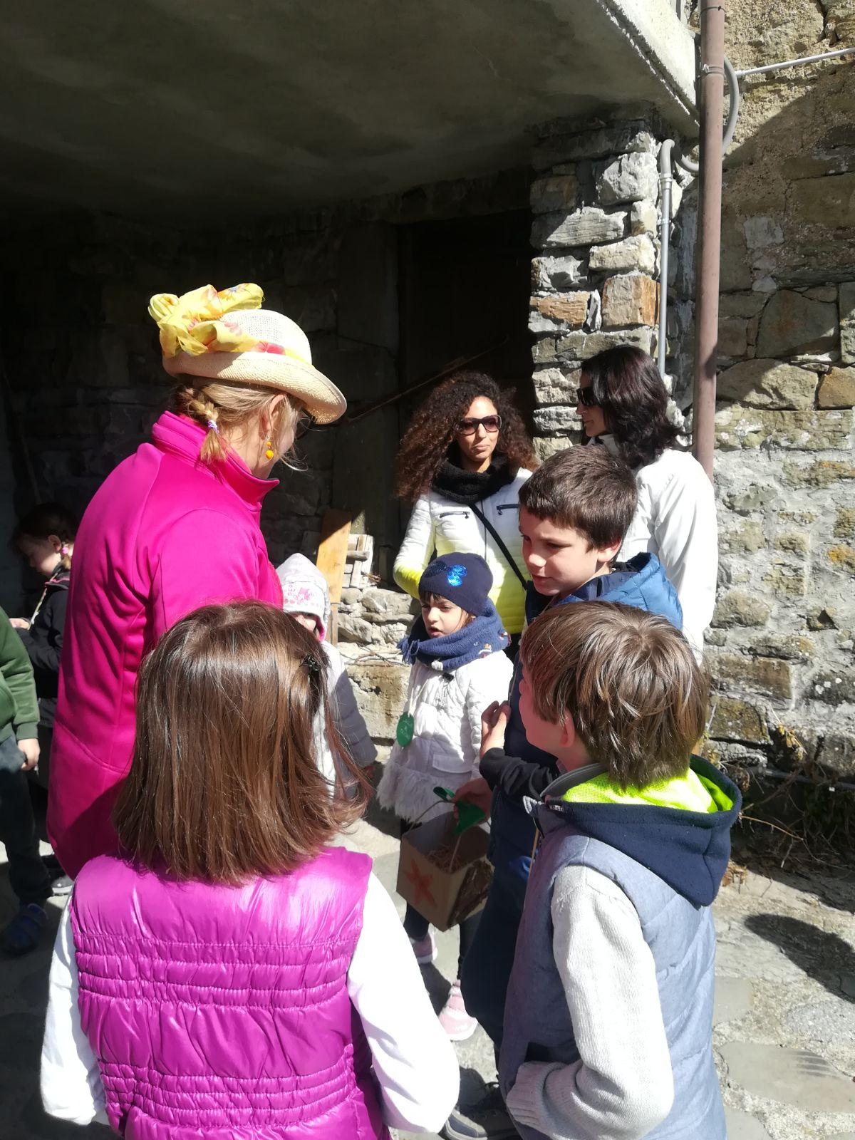 2 aprile Lisore - caccia al tesoro delle uova dipinte