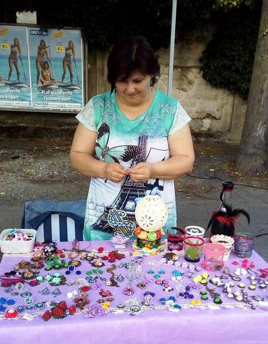 Angela Pircu ArTre a Gragnano Trebbiense per Notte d'estate