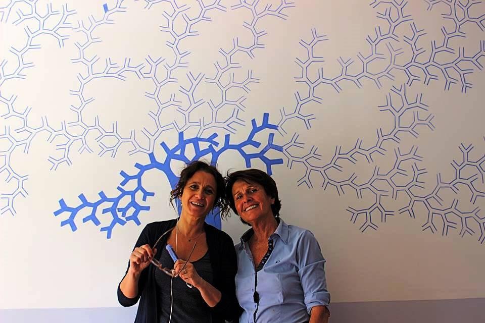 Silvia Faini e Anna Bianchi