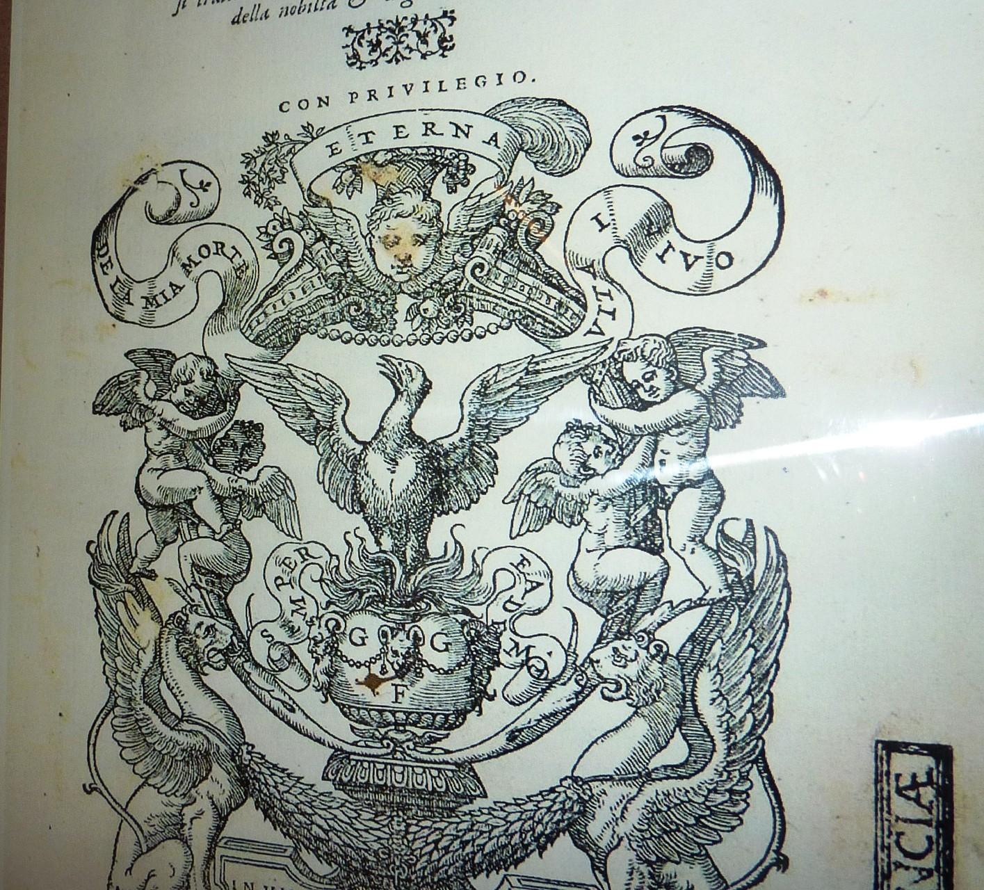 Le Marche tipografiche nelle cinquecentine della biblioteca Passerini-Landi