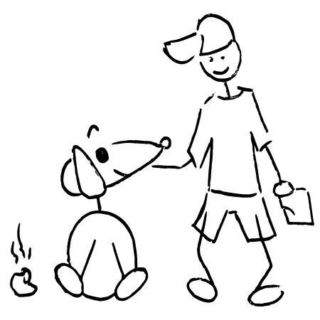 Kompostierbare Hundekotbeutel, biologisch abbaubar