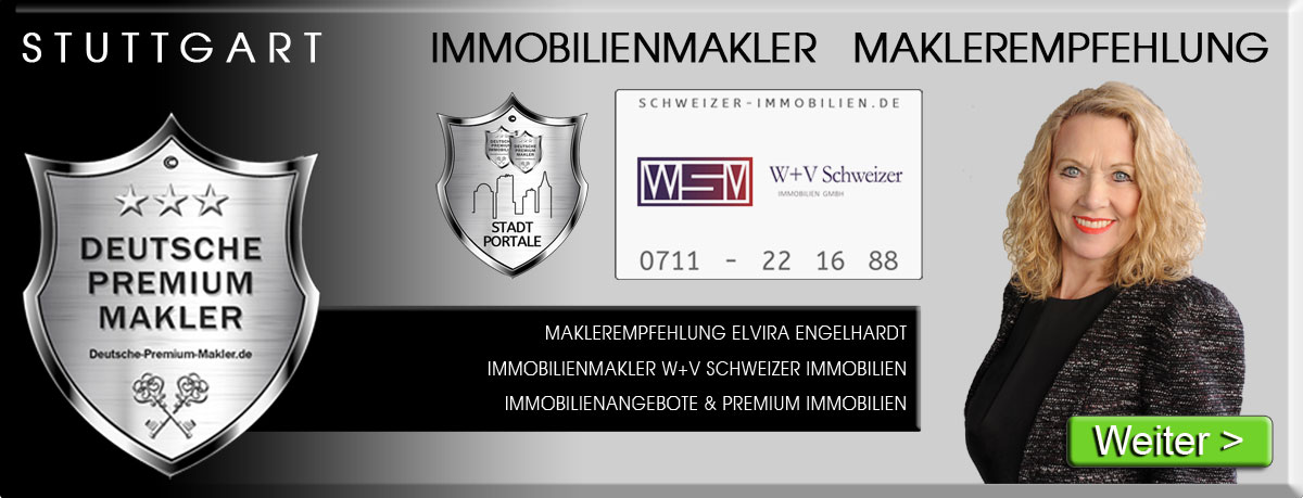 IMMOBILIENMAKLER STUTTGART W+V SCHWEIZER IMMOBILIEN ELVIRA ENGELHARDT