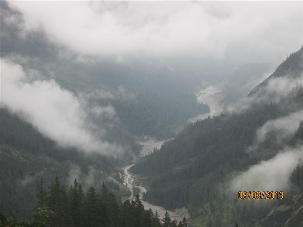 Vallon de Schwarzwassertal depuis Lichtalpe