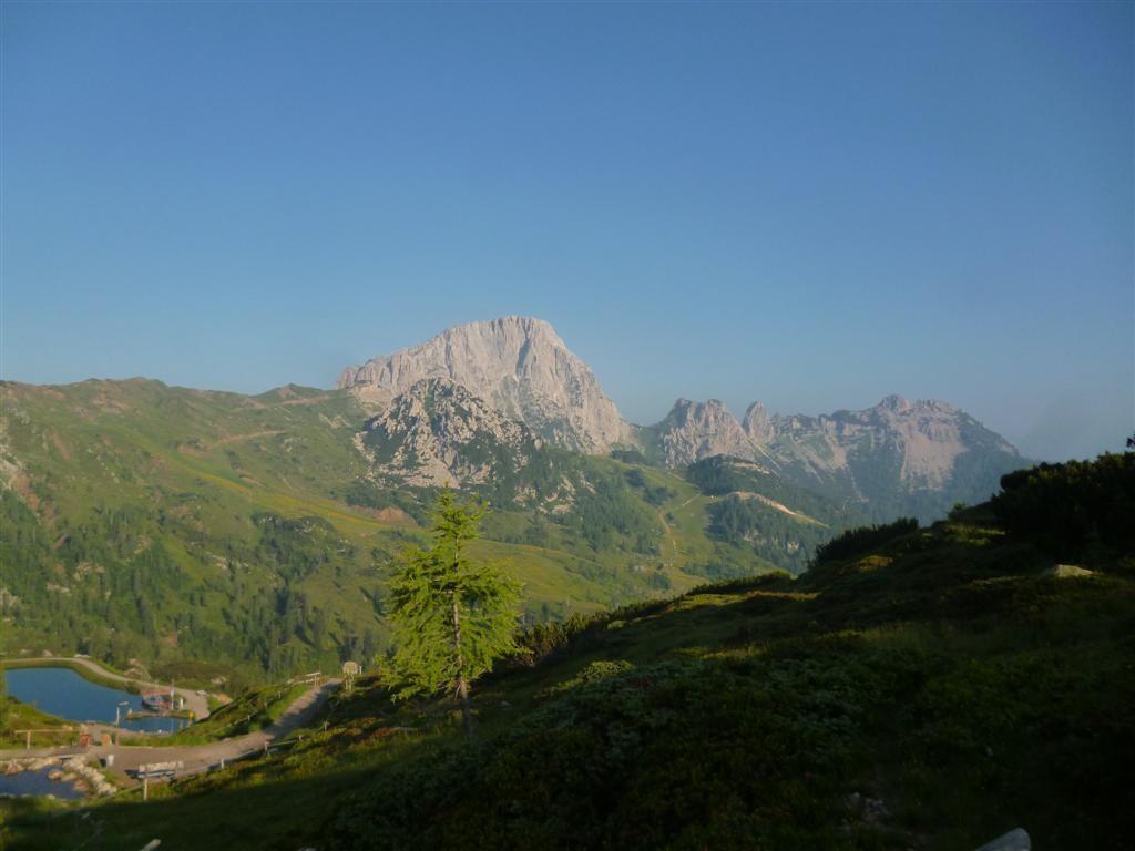 Vue sur le Trogkofel (2280m)