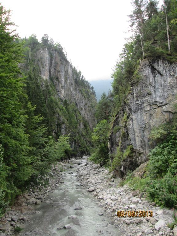 Après la vallée de Leichtal, remontée du vallon de Schwarzwassertal