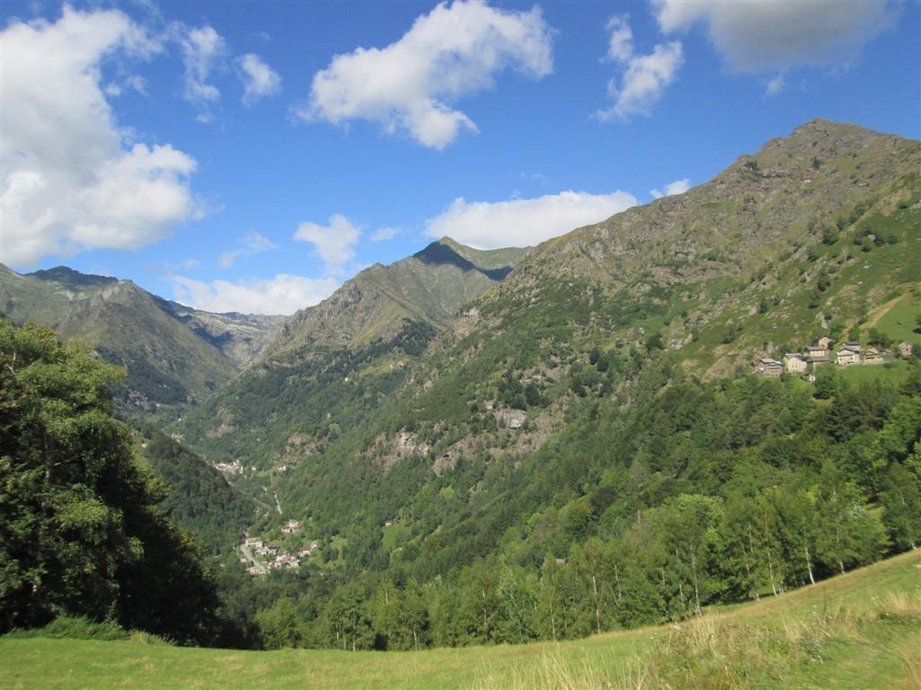 Traversée du pays Walser, descente sur Santa Maria